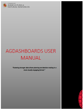 AGNR User Manual & Guides